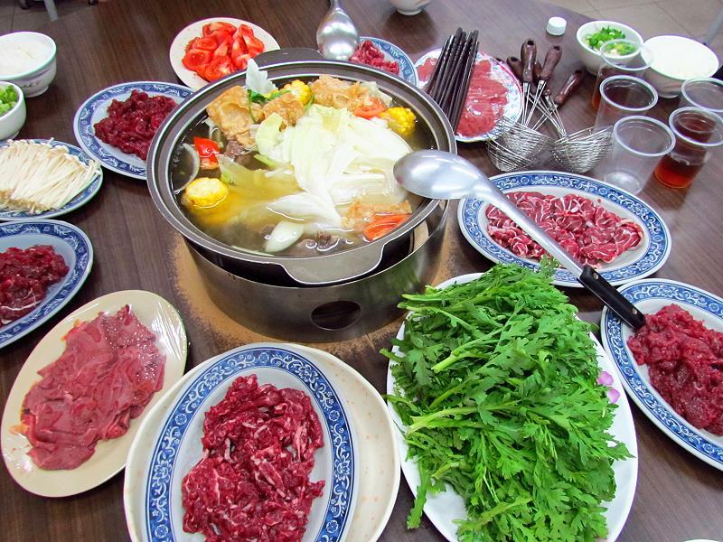 台南牛肉湯牛肉爐‧劉家莊
